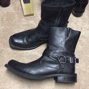 Robert Wayne Connor Zip Up Boots for men. Size 12